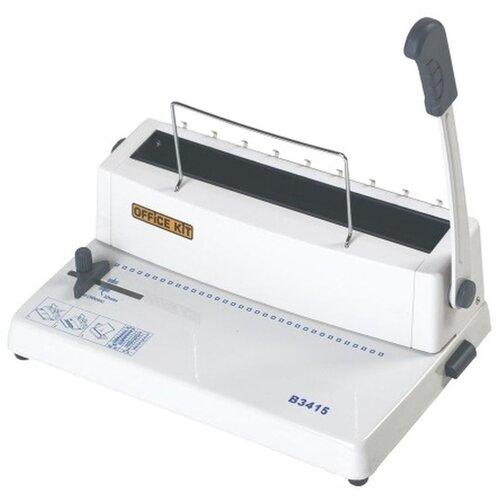 Механический брошюровщик Office Kit B3415 белый