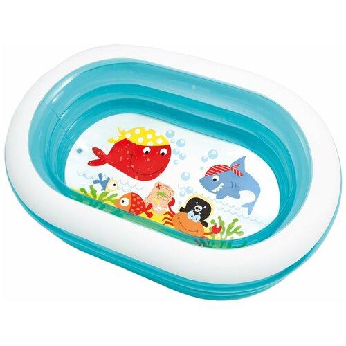 Фото - Детский бассейн Intex Oval Whale Fun 57482 детский бассейн intex 229х229х66cm 56475