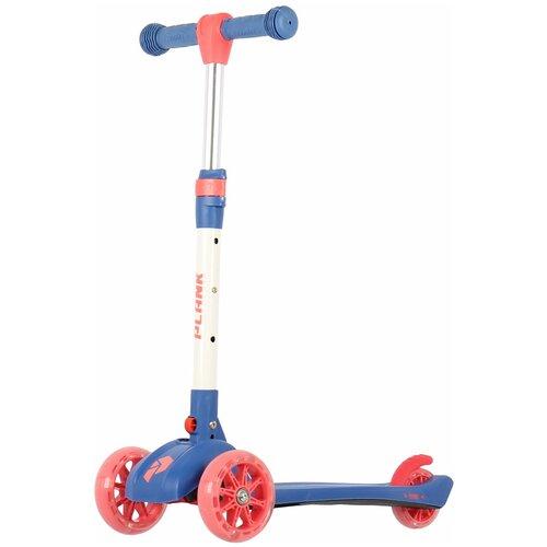 Детский кикборд Plank Orbit, синий трехколесные самокаты plank orbit
