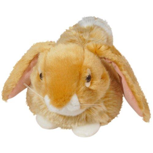 Мягкая игрушка Keel Toys Лежащий кролик коричневый 23 см недорого