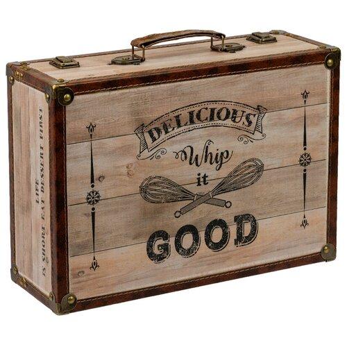 Gamma DBQ-01 декор. шкатулка чемоданчик 39 x 27 x 14 см №014 Лови момент