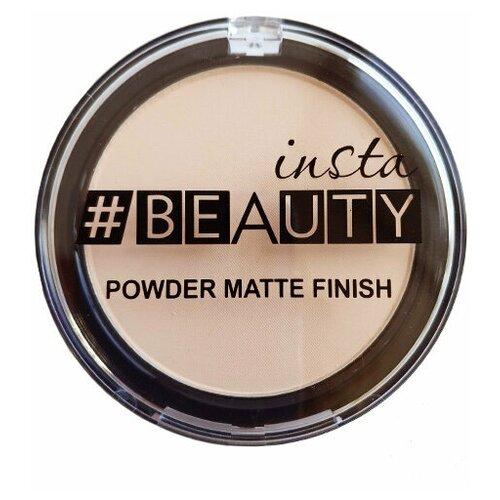 Insta#beauty Компактная пудра Powder Matte Finish 02