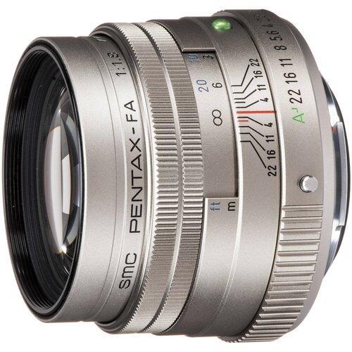 Объектив Pentax SMC FA 77mm f/1.8 Limited серебристый