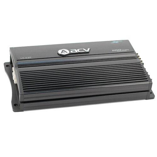 Фото - Автомобильный усилитель ACV LX-4.60 усилитель автомобильный acv zx 1 1800d черный [32070]