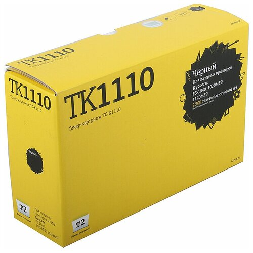 Фото - Картридж T2 TC-K1110, совместимый картридж t2 tc b2375 совместимый