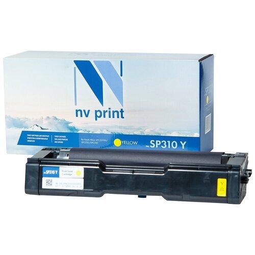 Фото - Картридж NV Print SP310 Yellow для Ricoh, совместимый картридж nv print kx fat410a для panasonic совместимый