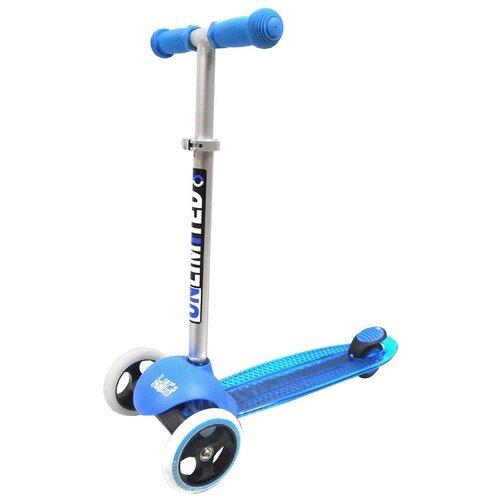 Детский кикборд Unlimited MS05, синий