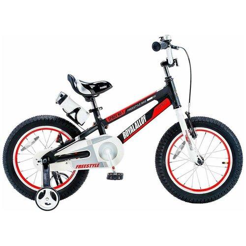 Детский велосипед Royal Baby RB18-17 Freestyle Space №1 Alloy Alu 18 черный (требует финальной сборки) двухколесные велосипеды royal baby freestyle space 1 alloy 14