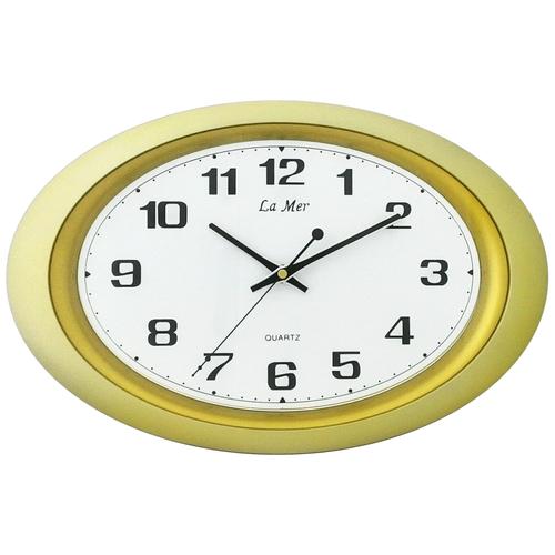 Часы настенные кварцевые La mer GD121 золото настенные часы la mer gd121 13