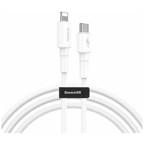Кабель Baseus Mini White USB Type-C - Lightning (CATLSW-02) 1 м белый