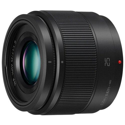 Объектив Panasonic 25mm f/1.7 G Aspherical (H-H025) черный