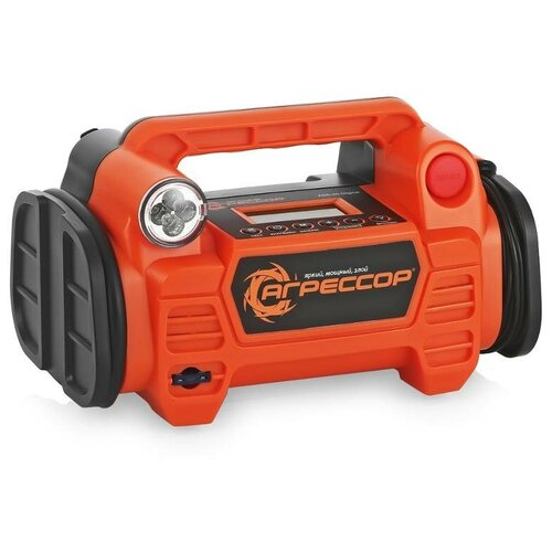 Автомобильный компрессор Агрессор AGR-40 Digital оранжевый