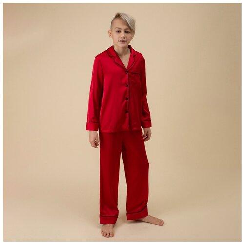 Купить Пижама детская унисекс NICOLE HOME158164red40-42р, Домашняя одежда