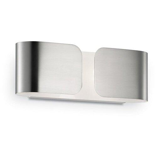 Настенный светильник IDEAL LUX Clip AP2 Mini Cromo, G9, 80 Вт настенный светильник ideal lux neve ap3 cromo