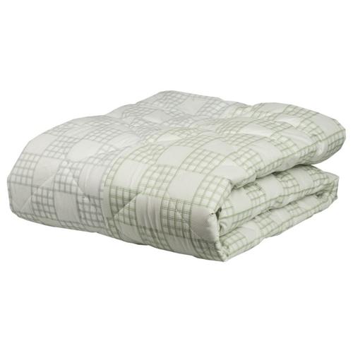 Одеяло Mona Liza Chalet Climat Control, всесезонное, 195 х 215 см (серый/зеленая олива)