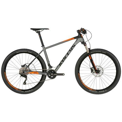 Горный (MTB) велосипед KELLYS Gate 30 27.5 (2019) серый S (требует финальной сборки) горный mtb велосипед kellys desire 90 2019 grey green m требует финальной сборки