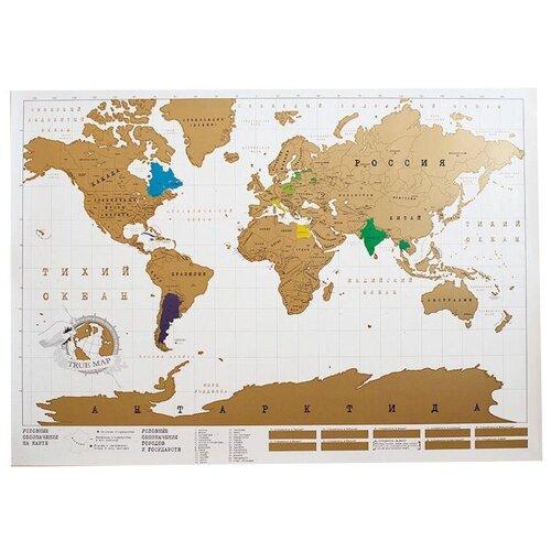 BadLab Original карта Мира (0346), 84 × 59 см