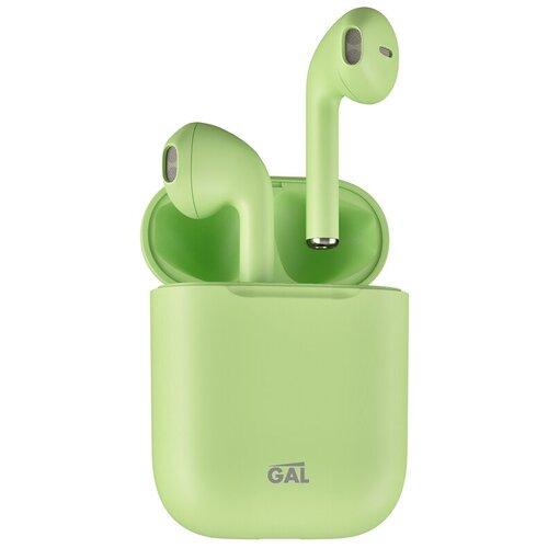 Беспроводные наушники GAL TW-3500, matt green