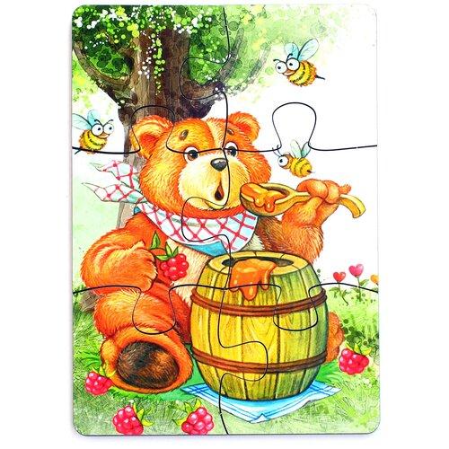 Пазл PAREMO Медведь (PE720-60), 6 дет.