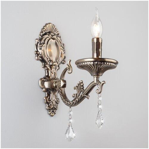 Настенный светильник Eurosvet Venezuela 22585/1 античная бронза, E14, 60 Вт недорого