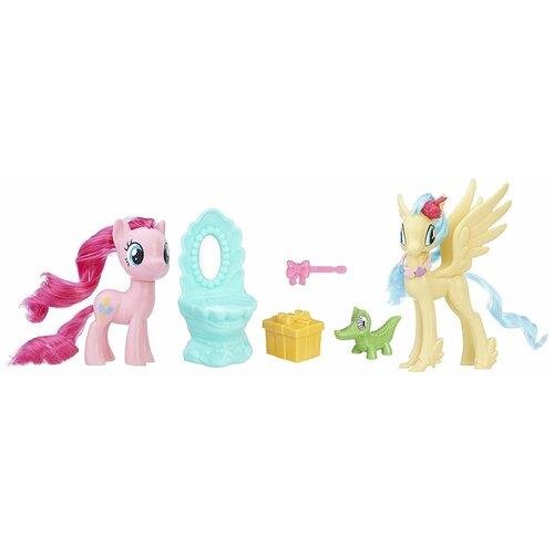 Фото - Игровой набор My Little Pony Стильные друзья Pinkie Pie & Princess Skystar E0995 набор для детского творчества набор д вышивания гладью my little pony