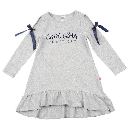 Купить Платье Mini Maxi размер 110, серый, Платья и сарафаны
