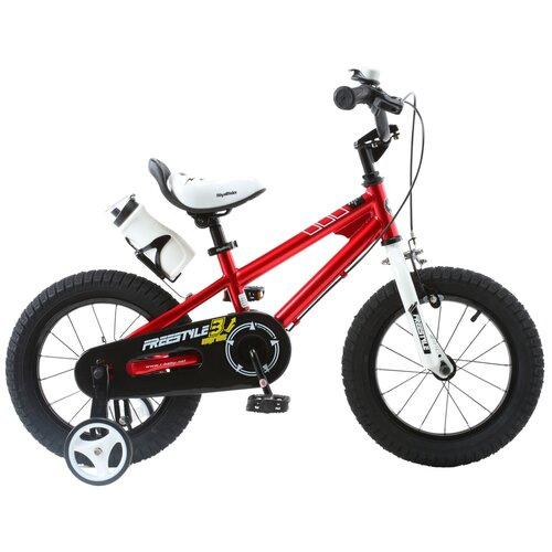 Фото - Детский велосипед Royal Baby RB18B-6 Freestyle 18 Steel красный (требует финальной сборки) детский велосипед tong yue 2 3 6 8 12 14 16 18