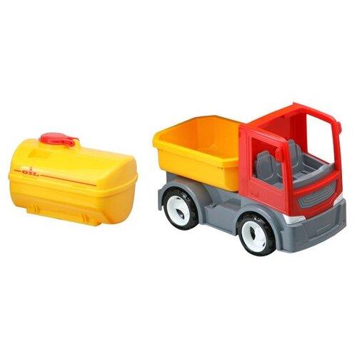 Грузовик с цистерной и сменным кузовом