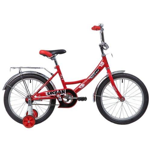 Фото - Детский велосипед Novatrack Urban 18 (2019) красный (требует финальной сборки) детский велосипед novatrack urban 16 2019 синий требует финальной сборки
