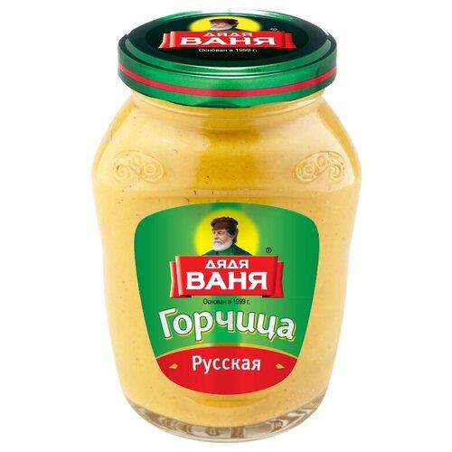 Горчица Дядя Ваня Русская, 140 г перец дядя ваня чили маринованный 340 г