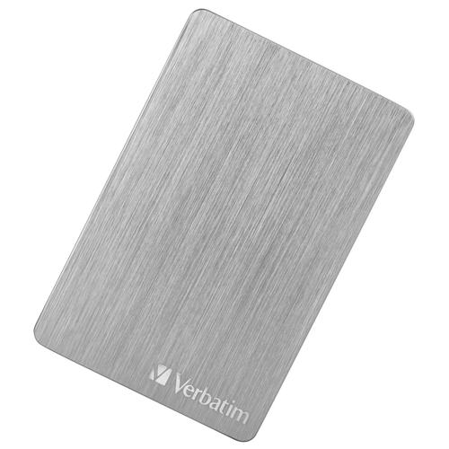 Фото - Внешний HDD Verbatim Store'n'Go ALU Slim 2 TB, серебристый thermaltake для hdd max4 n0023sn серебристый