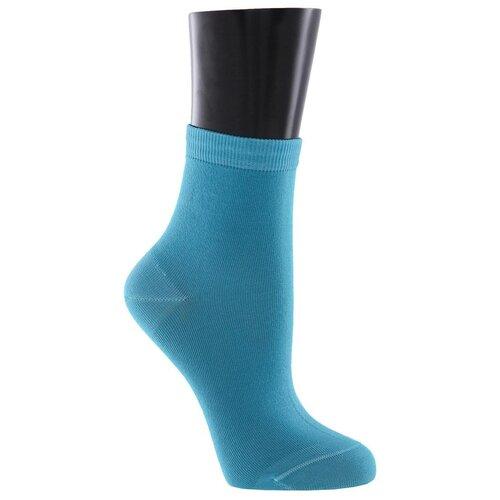 Носки женские Collonil Classic 881 голубые 3941