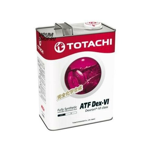 TOTACHI 4589904521478 Масло трансмиссионное TOTACHI ATF DX-VI 4 л