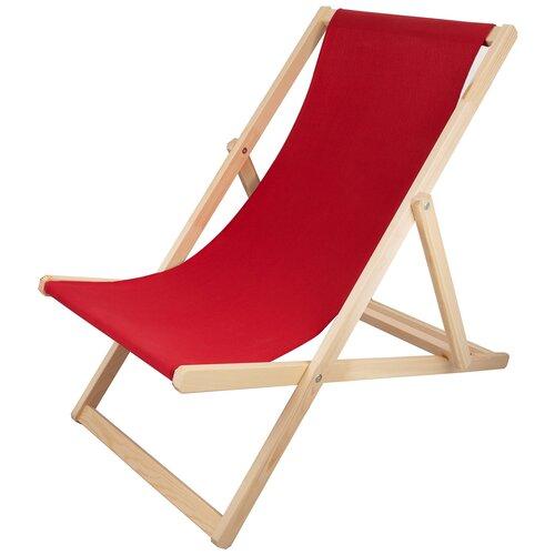 Шезлонг KETT-UP PICNIC ECO, красный стул kett up picnic eco дерево цвет беленый