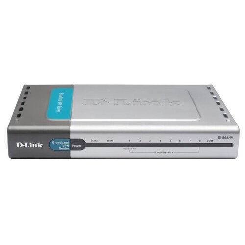 Роутер D-Link DI-808HV (8 портов, без WiFI !!!)
