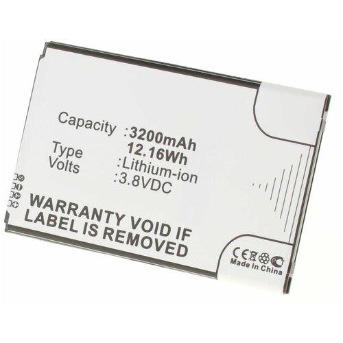 Аккумулятор iBatt iB-U2-M1102 3200mAh для Samsung SM-N900, SM-N9000, SM-N9006, Galaxy Note III, SM-N900A, SM-N9002, SM-N900K, SM-N900P,