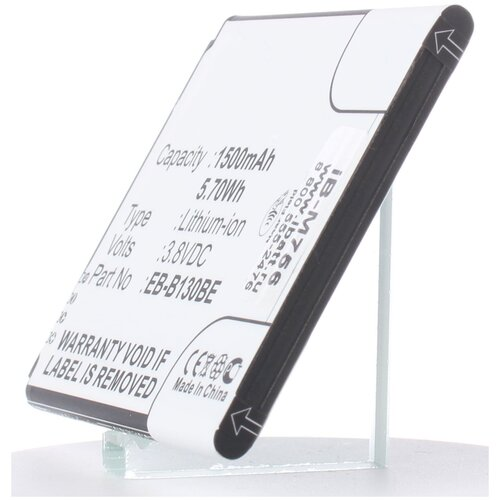 Аккумуляторная батарея iBatt 1500mAh для Samsung Galaxy J1 mini 2016 Duos, Galaxy J1 Nxt, Galaxy V Dual SIM, SM-G313HZ, SM-J105M, SM-J106B