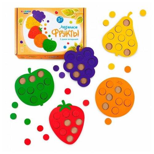 Деревянная игрушка Raduga Kids Мозаика - сортер Фрукты по цвету