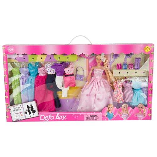 Кукла с набором одежды и аксессуарами, 8193