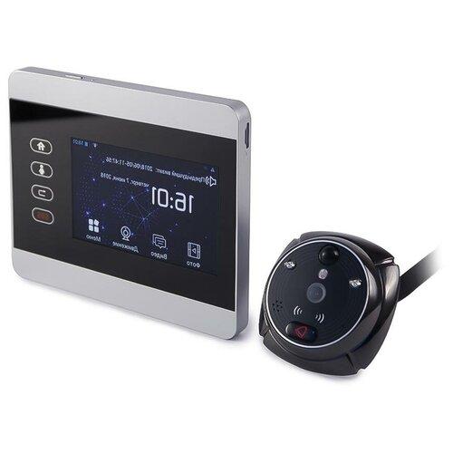 IHome-5 - видеоглазок в дверь с записью от датчика, видеоглазок дверной монитор, ip видеоглазок - видеоглазок датчик движения подарочная упаковка
