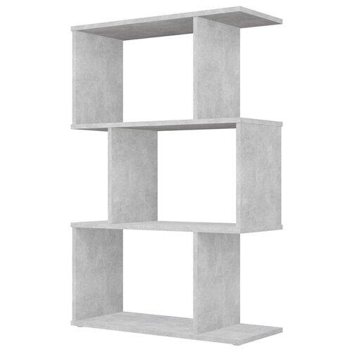 Фото - Стеллаж Polini Home Smart фигурный 3 секции, бетон стеллаж 3 секции белый 0 38 0 34 1 11
