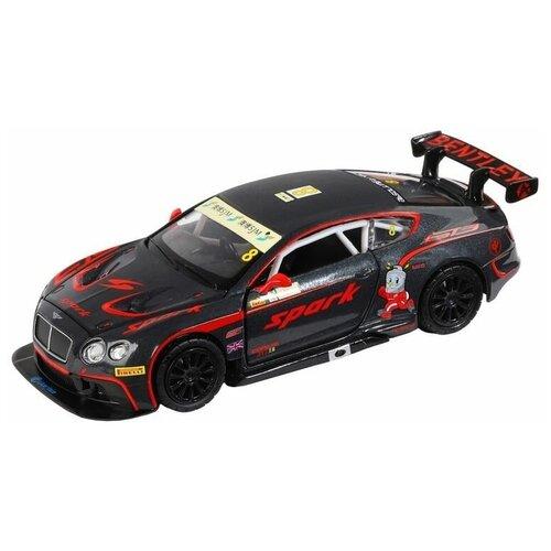 Купить Машина автопанорама Bentley Continental GT3, черный, 1/32, в/к 17, 5*13, 5*9 см - JB1251407, Автопанорама, Машинки и техника
