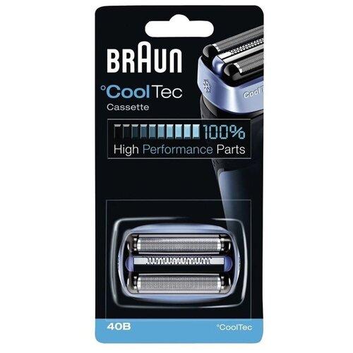 Сетка и режущий блок Braun 40B (CoolTec) сетка и режущий блок braun 73s silver