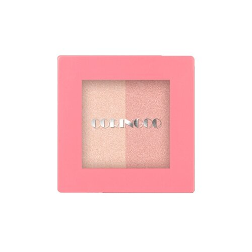 Coringco Хайлайтер Pink square Dual highlighter