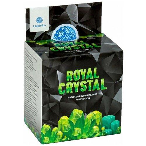 Набор для исследований Intellectico Royal Crystal зелeный