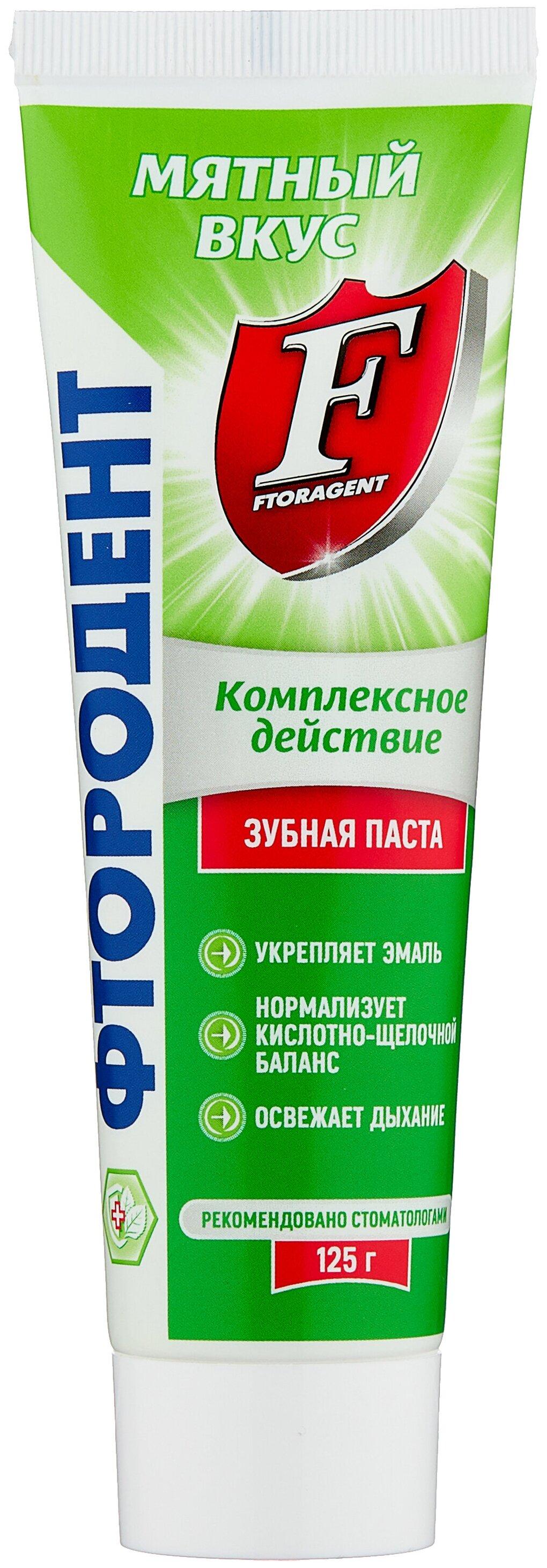 Стоит ли покупать Зубная паста Фтородент (Аванта) Мятная, 125 г - 5 отзывов на Яндекс.Маркете