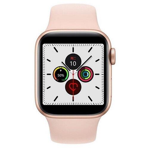 Умные часы IWO 13 Lite, золотистый/розовый