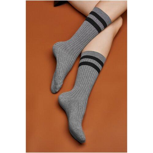 Носки Красная Жара (серый; черный) 36-41