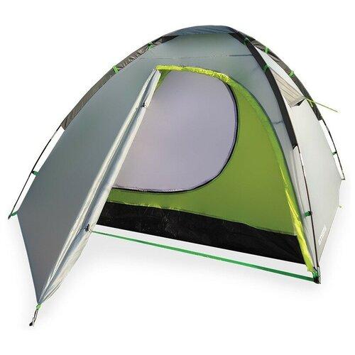 Палатка ATEMI OKA 2 CX серый/зеленый недорого