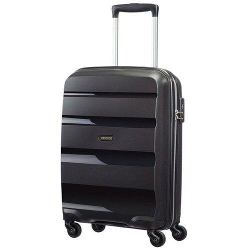 Чемодан American Tourister Bon Air 31.5 л, черный чемодан american tourister sunside черный m